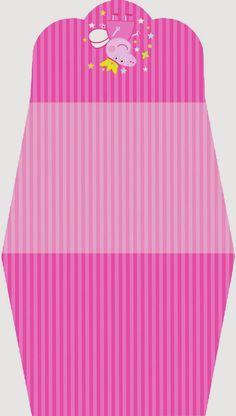 Peppa Pig Fairy Free Printable Purse Invitation.