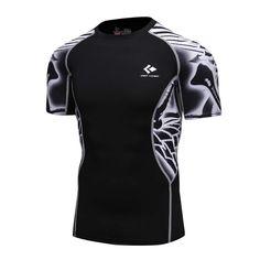 Men Comics Batman Silm Fit T-Shirt Workout Fitness Gym Cotton Tee Bodybuilding Q