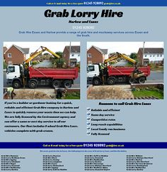 scrapspost cambridge Portfolio - Grab hire Harlow and Essex