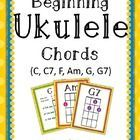 ***These are the chords I use for my beginning students. If you would like to have an additional chord included in your personal purchase, please c...
