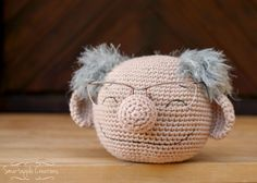Last weekend was my father's 65th birthday and what would an amigurumi lover give for his father? Something amigurumi of course! We hav...