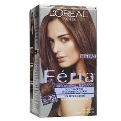 Feria Hair Colour. This is basically the only hair color brand I use. I love their one brownish red one. :)