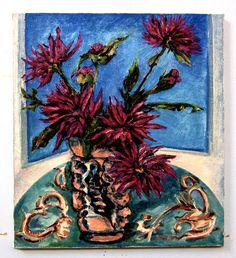 Floral Bouquet 18 x 20 Oil Painting by GreganPaintings on Etsy