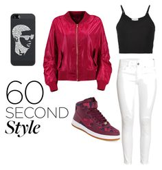 """""""60 second style"""" by jennene ❤ liked on Polyvore featuring Lost & Found, H&M, NIKE, Casetify, DRAKE, views and 60secondstyle"""