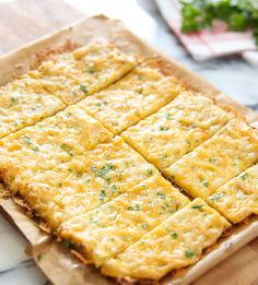 Cauliflower Breadsticks | Kirbie's Cravings | A San Diego food & travel blog