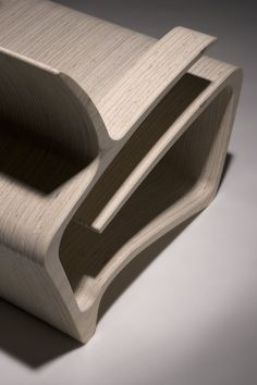 KOURA | Armchair by Punkalive #wood #design repinned by www.smg-treppen.de
