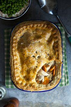 Braised Rabbit Pie | DonalSkehan.com, Brilliant traditional pie recipe.
