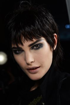 SHOW: Marc Jacobs -- LEAD ARTIST: François Nars, Founder & Creative Director of NARS Cosmetics -- KEY PRODUCTS:  Black Moon Eyeliner Pencil, Zardoz Single Eyeshadow, Triple X Lip Gloss