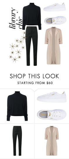 """gonna warm myself"" by jeonayla on Polyvore featuring Le Kasha, Puma, Yves Saint Laurent and Global Views"