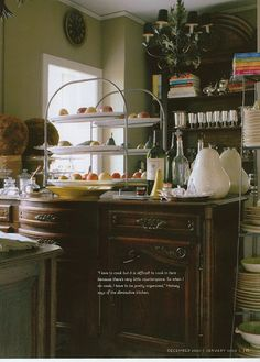 Like the country French sideboard.