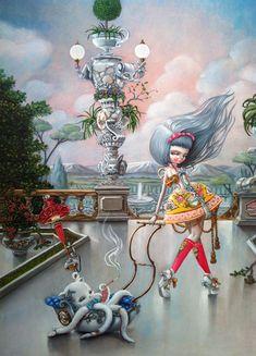 BetweenMirrors.com   Alt Art Gallery: Nataly Abramovich – The Art of KuKula