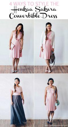 Sandy a la Mode | Fashion Blogger 4 Ways To Style The @henkaa Sakura Convertible Dress