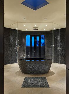 Bathroom luxury.