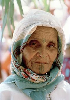 Elderly Woman from Morocco