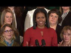 Michelle Obama si congeda da first lady e piange