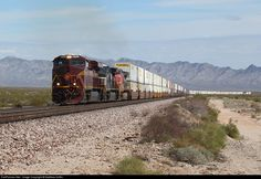 RailPictures.Net Photo: NS 8102 Norfolk Southern GE ES40DC at Mojave Desert, California by Matthew Griffin