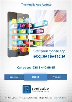 Start your mobile app with Reefcube ! Info: 5440 8865