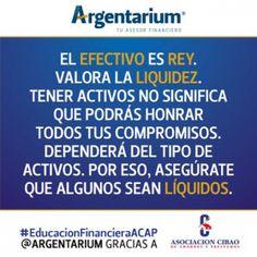 Efectivo | Argentarium