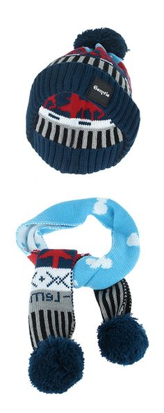 Tortor 1Bacha Toddler Cotton Soft Pom Beanie Warm for Fall Winter Hat