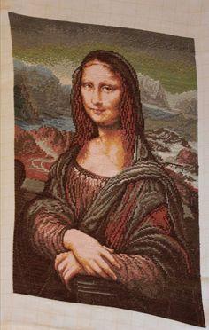 Leonardo Da Vinci Mona Lisa Original Wiehler Hand Made Gobelin | eBay