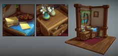 lowpoly,medieval,handpaint,texture,jack,shadow,carton Low Poly, Medieval, Middle Ages