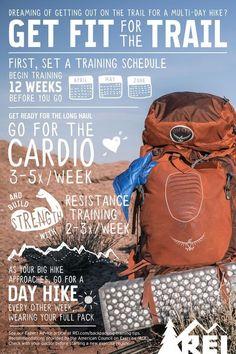 Thru-Hiking: Training Tips and Exercises #hiketraining