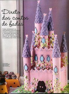 guia cake design castelo encantado