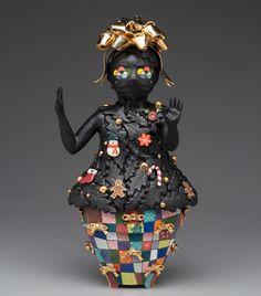 "Ahrong Kim on Instagram: ""s o c i a l d i s t a n c i n g / 2021 #6ft #christmastree #ceramicsculpture #ahrongkim"" Ceramic Artists, Christmas Tree, Sculpture, Ceramics, Instagram, Teal Christmas Tree, Ceramica, Pottery, Xmas Trees"