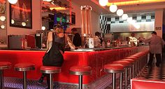 Classic Diner Right in the Heart of Sea Point! 50s Diner, In The Heart, Good Food, Cape Town, Restaurants, Sea, Restaurant, The Ocean, Ocean