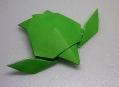 Como surgiu o origami
