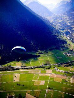 Paragliding Verbier