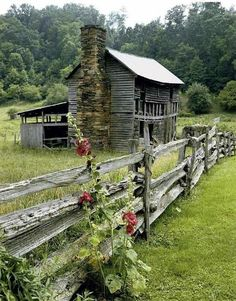 """How I viewed the Grimes's farm, isolated from society and falling apart. """"She lived with her husband and son in a small unpainted house on the bank of a small creek four miles from town"""" (164)"""