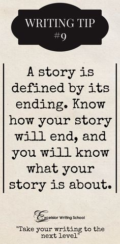 Why you must know your story's ending. A novel's ending is what the story is about. #plotting #writingtips