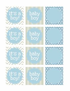 Baby Boy Shower Cards | also created a little baby shower banner. The font I used is called ...