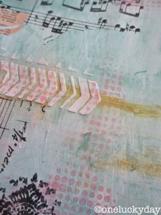 One Lucky Day: Art journal - page 1