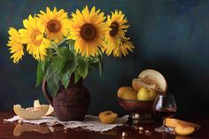 Sunflower's  for the late summer tabel