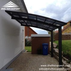 Due to the portable feature of #carport, it can be located anywhere possible which is in need of parking space. sales@sheltercarport.com 0086 139 2885 0907 https://www.sheltercarport.com/product/alu-carport-with-curved-polycarbonate-panel/ #alucarport #carportforsale #parkingshade