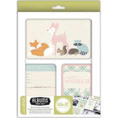 Little One Albums Made Easy Journaling Cards We R Memory Keepers