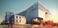 luxigon - Opera and Culture Centre Competition Kristiansund, by brisac gonzales