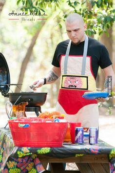 Krang from Teenage Mutant Ninja Turtles became a badass cook.