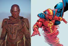 Red Tornado - Supergirl screen & comic book