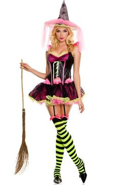 Sexy Lingerie, Plus Size Lingerie, Sexy Halloween Costumes Halloween Costumes Online, Halloween Magic, Holiday Costumes, Halloween 2016, Halloween Cakes, Halloween Ideas, Corset Costumes, Witch Costumes, Cool Costumes