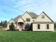 Don't miss out over 3000 square ft.  custom home.  This home is a short drive to Village of East Aurora, and also close to route 400 for an easy commute to the city. Built in  2004 with a bright open kitchen with breakfast nook and granite counters.   A living room with gas fireplace and cathedral ceilings.  A First floor master suite with whirlpool tub, and lots of closets.  Formal dining area,   A spacious 2nd floor with 2 bedrooms, office area and bonus rec room can be 4th bedroom.  Full…