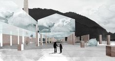 Science Center in Naples Lina Ghotmeh — Architecture : Architecture Design, Architecture Visualization, Architecture Graphics, Concept Architecture, Architecture Drawings, Landscape Architecture, Science Centre Architecture, Architecture Panel, Naples