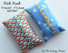 Ric Rac Tissue Holder