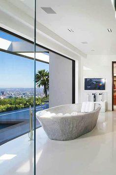 Bathroom. Architecture beach house
