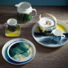 Une vaisselle poétique, Marimekko. Marie Claire Maison