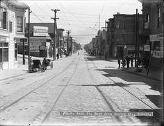 24th Street, looking East from  Castro Street. Noe Valley. San Francisco. September 6, 1911