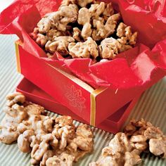 PRALINE PECANS from '100 Ways to Cook Southern' via Southern Living. This recipe is number 12. Dare I look at the others? http://www.southernliving.com/food/kitchen-assistant/southern-cooking-recipes-00417000069475/page103.html