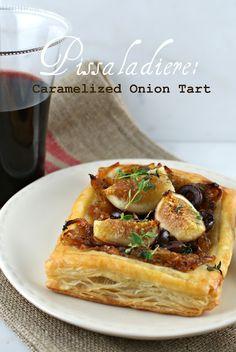 Caramelized Onion Tart via @Lisa |Authentic Suburban Gourmet